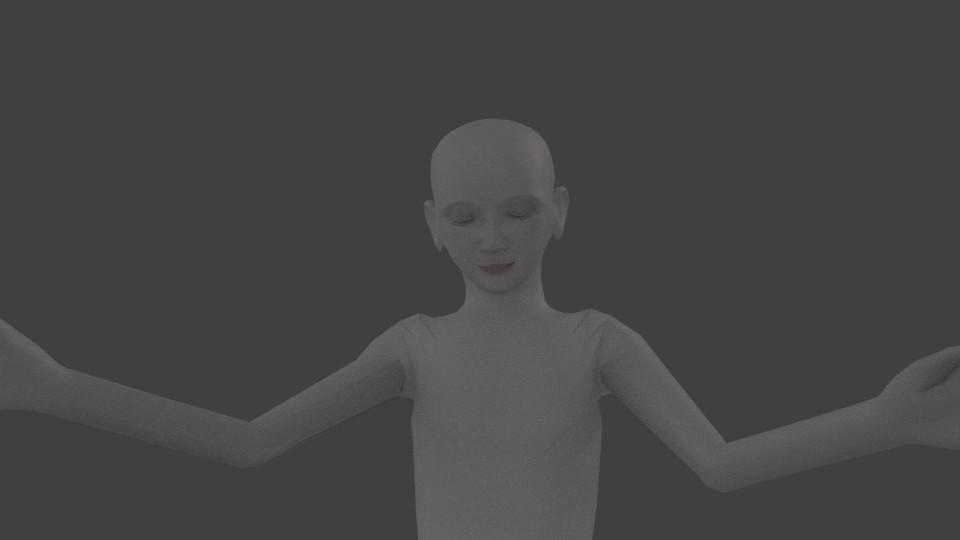 Blender model looking calmer