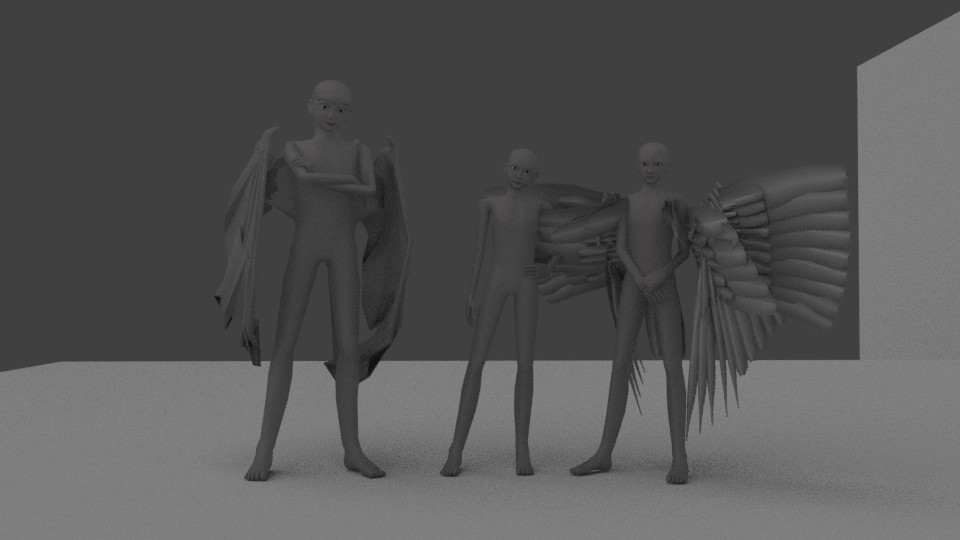 Base models in my3 pose