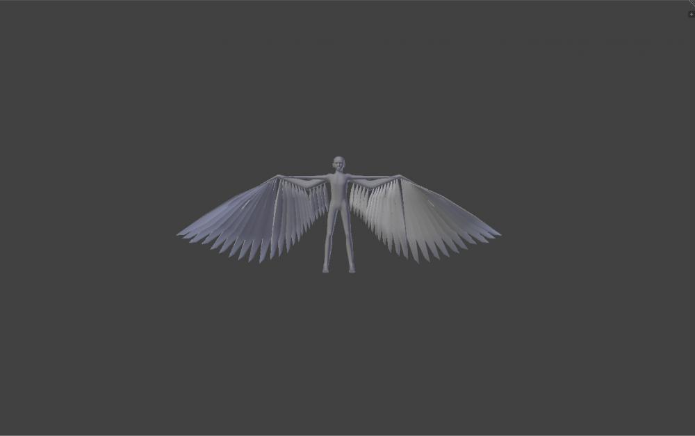 Blender Avian model with 5m wingspan