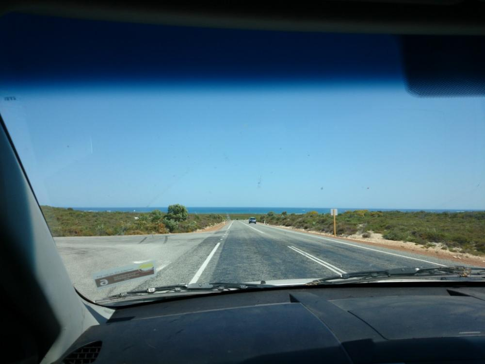 Heading towards Jurien Bay, Western Australia