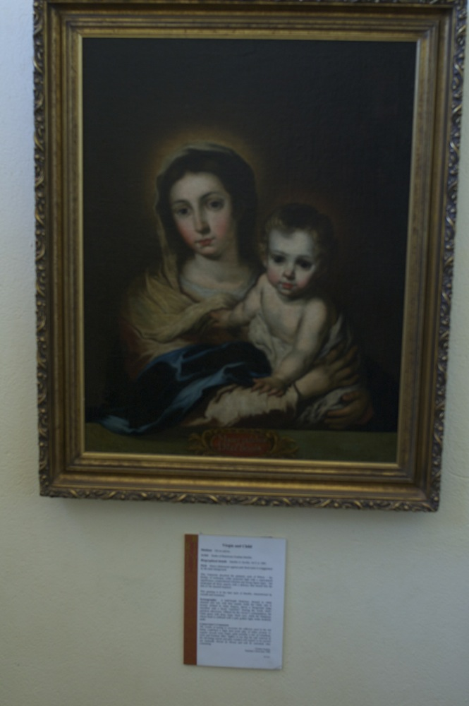 Painting at New Norcia
