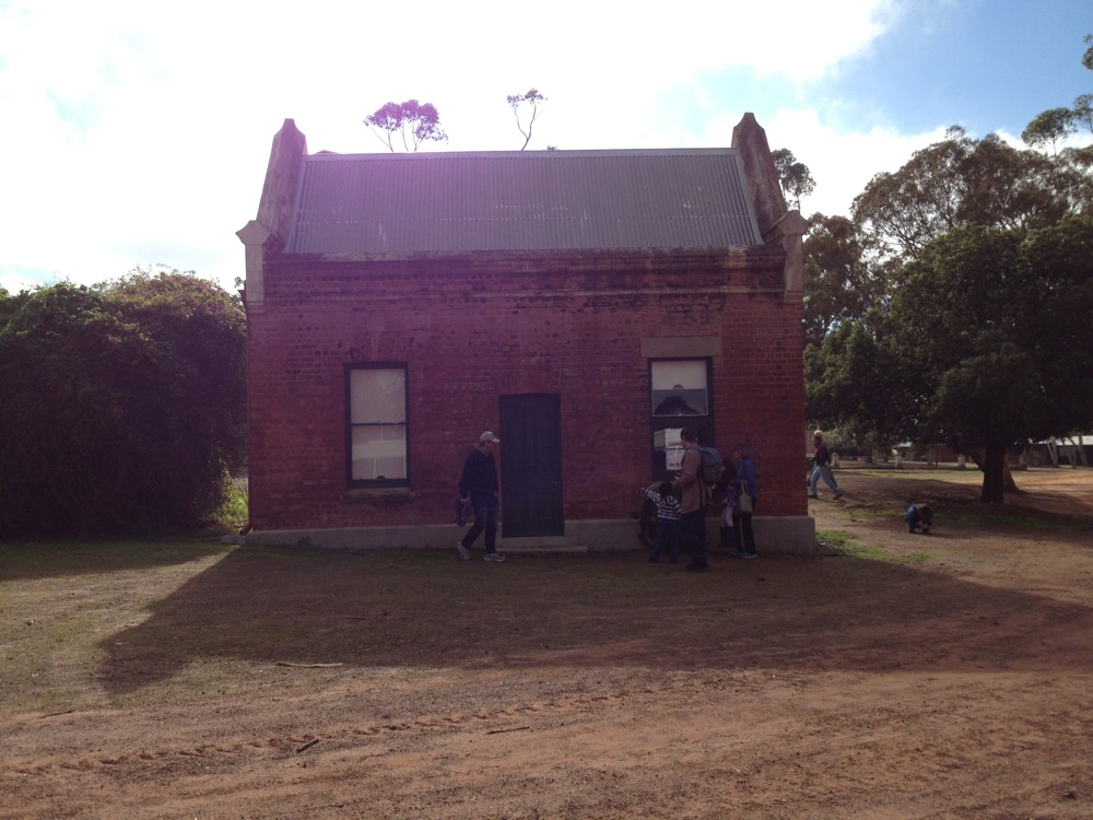 Cottage behind St Gertrude's, New Norcia, Western Australia