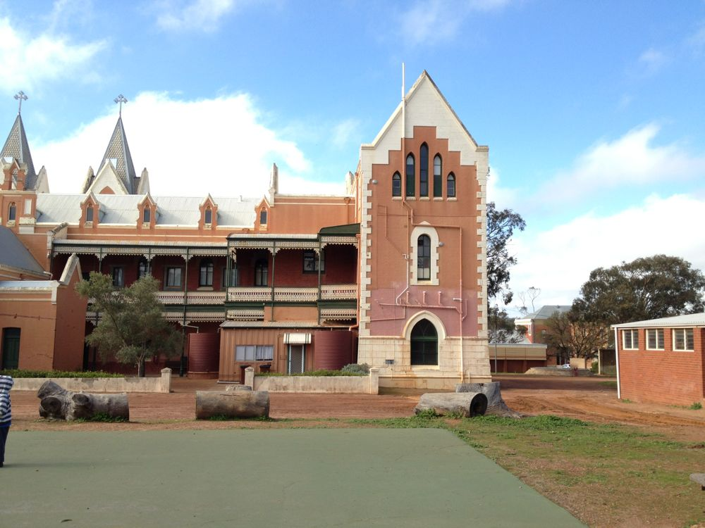 Rear of St Gertrude's College, New Norcia, Western Australia