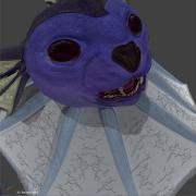 Blender viewport render of realistic vaporeon