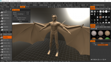 3d Coat screenie - sculpt nearly done