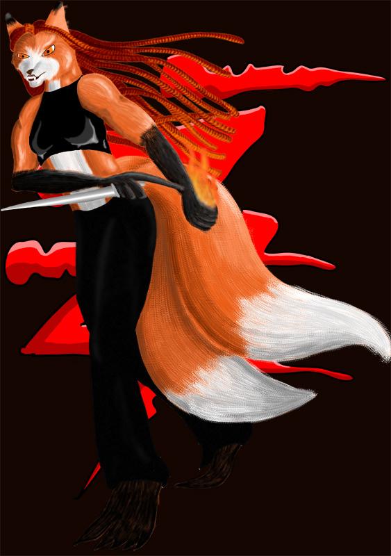 World of Darkness kitsune character