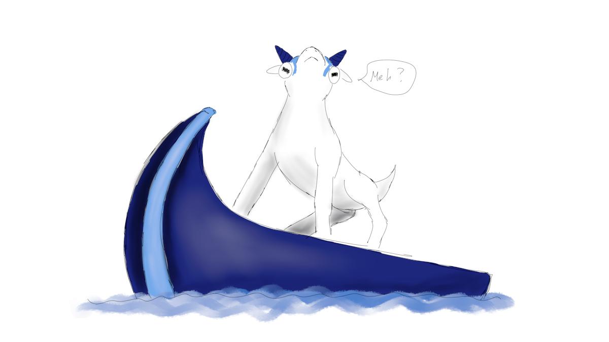 Upgoat on an upboat