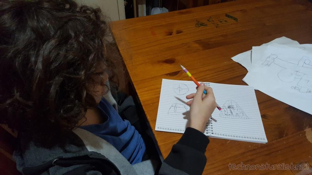 13yo designing a greenhouse dome
