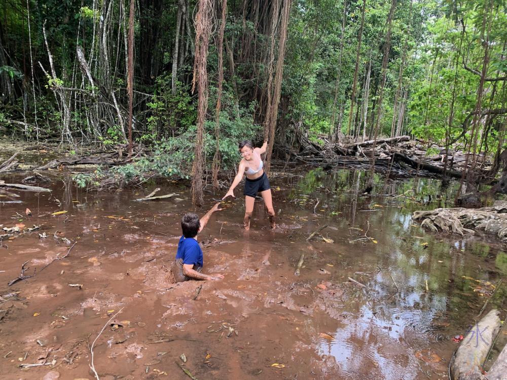 mud flat shenanigans 1, Hugh's Dale, Christmas Island