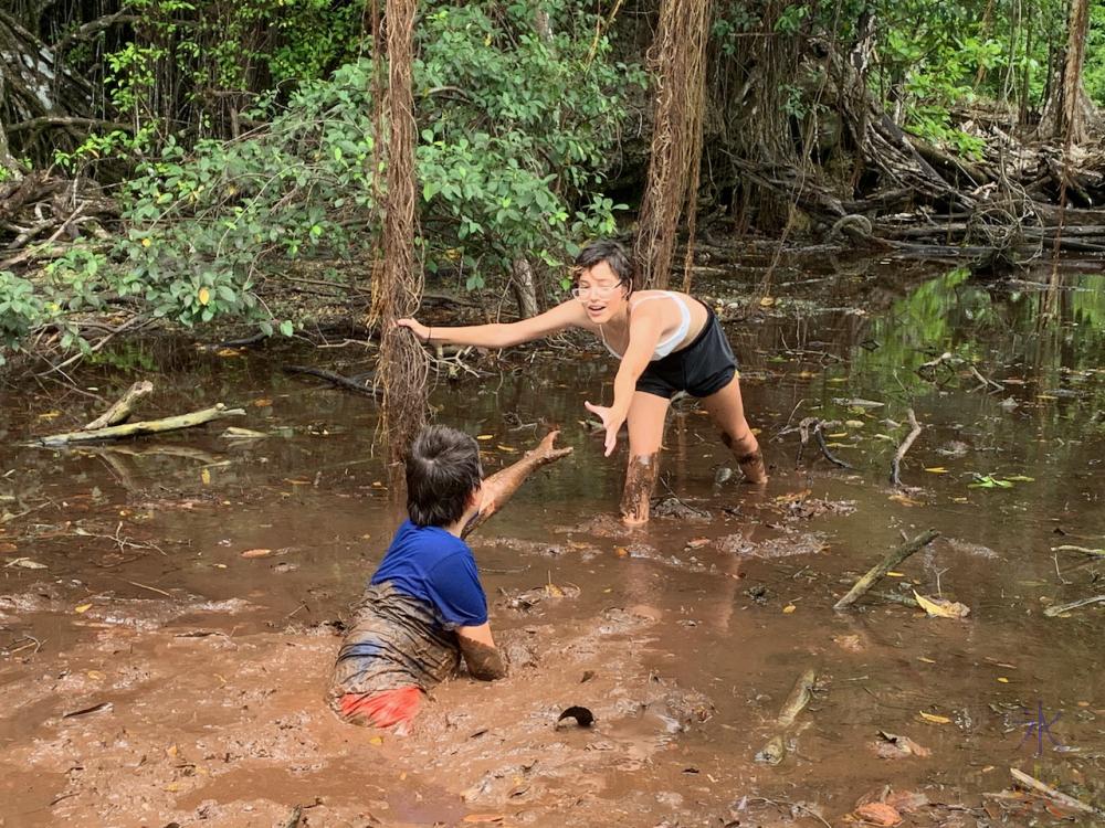 mud flat shenanigans 3, Hugh's Dale, Christmas Island