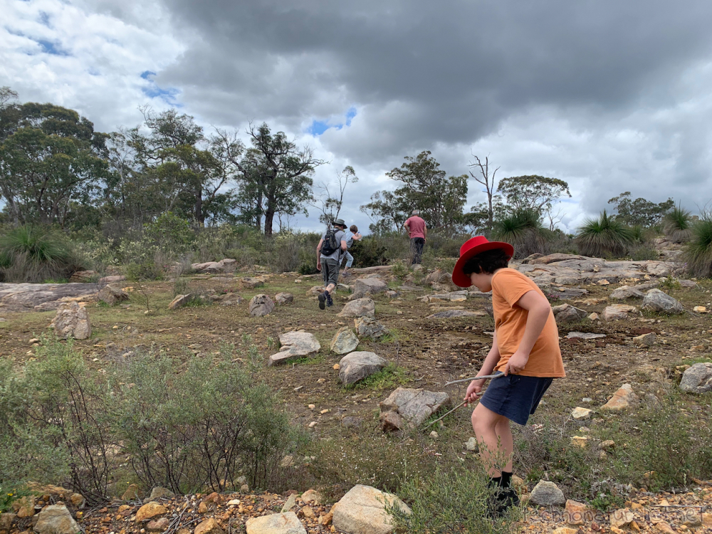 Bushwalking at Banyowla Regional Park, Western Australia