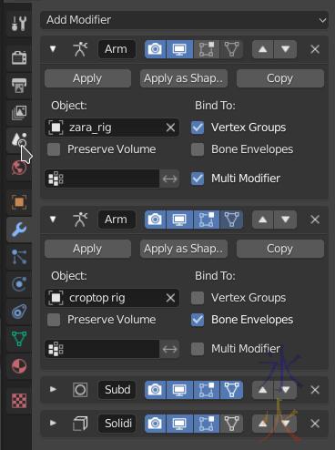 croptop modifier stack