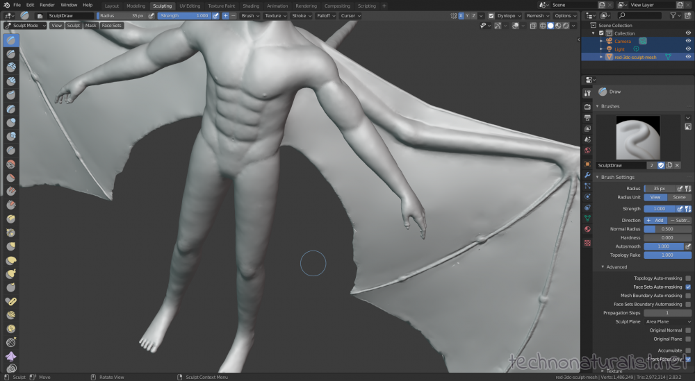 Blender 2.88 sculpt mode annoying bumps in mesh that won't go away no matter what