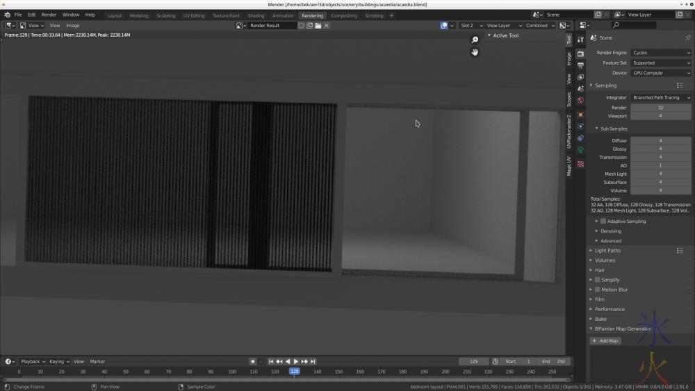 Blender 2.91 super basic glass shader render