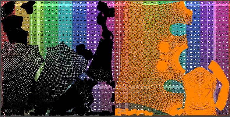 moving freshly packed group onto its own udim tile in Blender 2.92