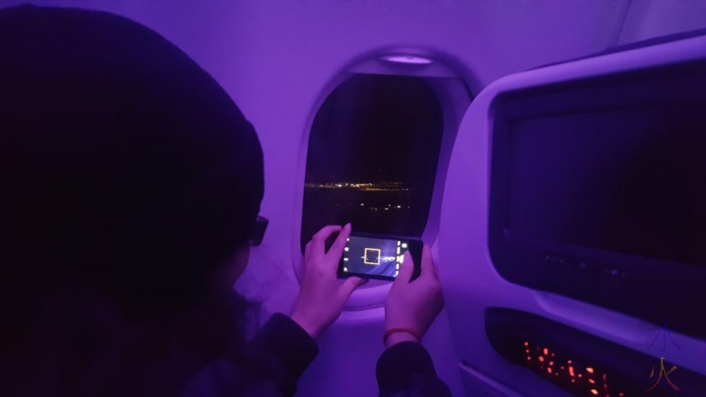 obligatory plane landing photo