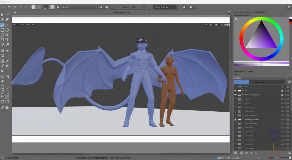 base image from Blender