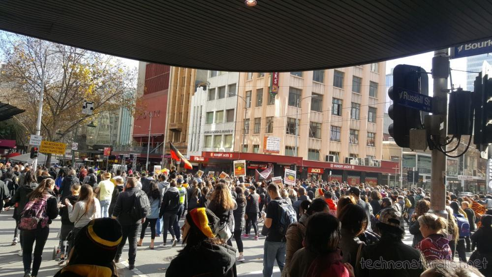 NAIDOC march, Melbourne, Victoria, Australia